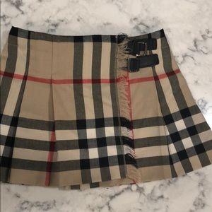 Burberry toddler skirt